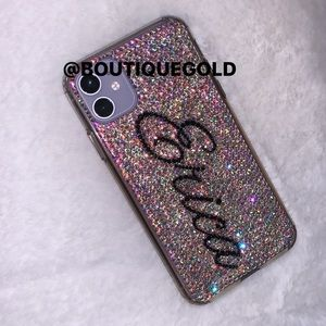 Accessories - Personalized custom blinged out iPhone case